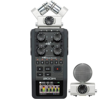 ریکوردر-صدا-Zoom-H6-Handy-Recorder-System