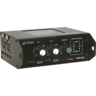 میکسر-2-کانال-Azden-FMX-22-Portable-Field-Mixer