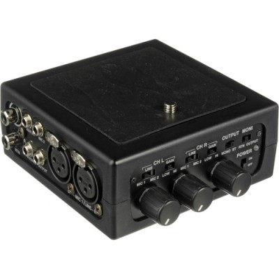 میکسر-2-کانال--Azden-FMX-DSLR-Portable-Audio-Mixer-for-Digital-SLR-Camera