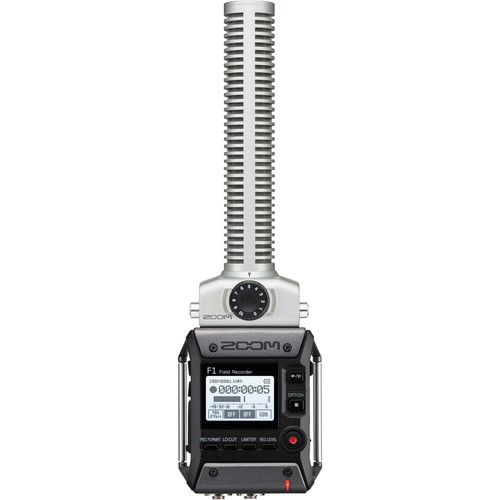 میکروفن-زوم--Zoom-F1-SP--Field-Recorder-with-Shotgun-Microphone