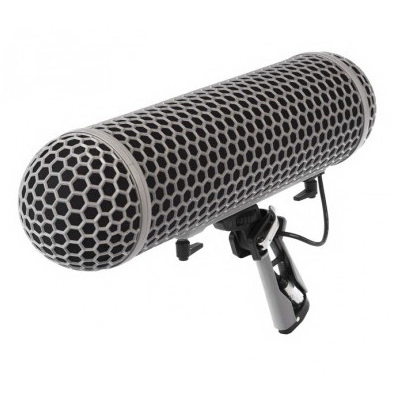 بلیمپ-رود-Rode-Blimp-Windshield---Rycote-Shock-Mount--System-for-Shotgun-Microphones