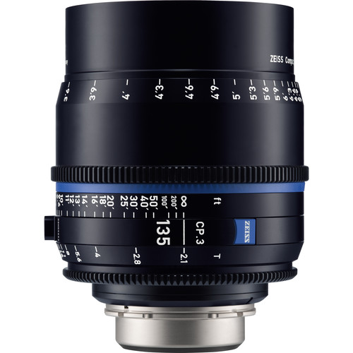 لنز-زایس--Zeiss-CP-3-135mm-T2-1-Compact-Prime-Lens-(PL--Mount,-Feet)