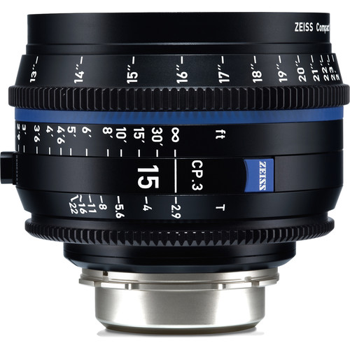 لنز-زایس--Zeiss-CP-3-15mm-T2-9-Compact-Prime-Lens-(Sony-E--Mount,-Feet)