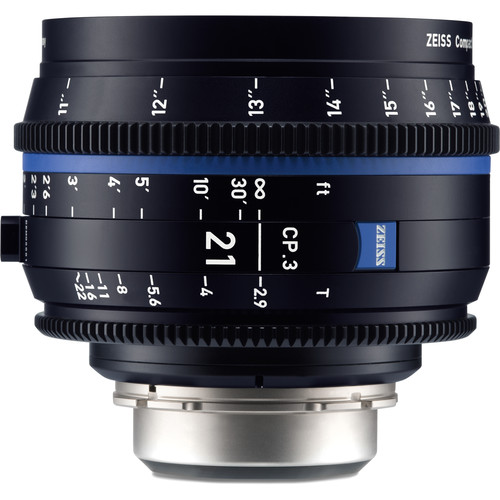 لنز-زایس--Zeiss-CP-3-21mm-T2-9-Compact-Prime-Lens-(PL-Mount,-Feet)