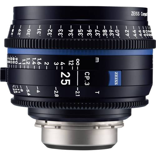 لنز-زایس--Zeiss-CP-3-25mm-T2-1-Compact-Prime-Lens-(Sony-E--Mount,-Feet)