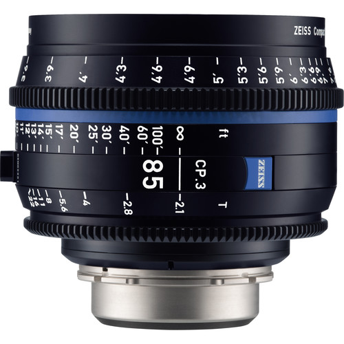 لنز-زایس--Zeiss-CP-3-85mm-T2-1-Compact-Prime-Lens-(PL-Mount,-Feet)