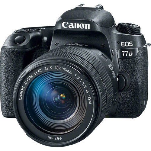دوربین-کانون--Canon-EOS-77D-DSLR-Camera-with-18-135mm-USM-Lens