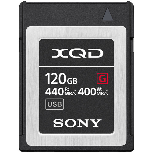 مموری-سونی-Sony-120GB-G-Series-XQD-Memory-Card