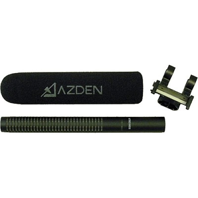میکروفن-ازدن-Azden-SGM-DSLR-Broadcast-Quality-Shotgun-Microphone-for-DSLR-Cameras