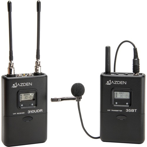 Azden-310LT-UHF-On-Camera-Lavalier-System