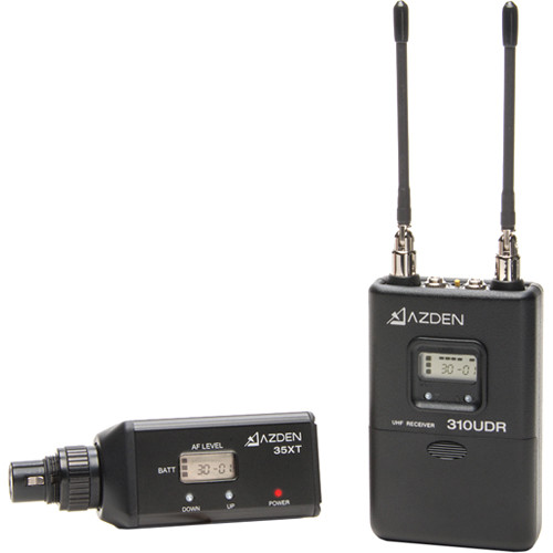 Azden-310XTهاشف-UHF-Diversity-Wireless-Microphone-System