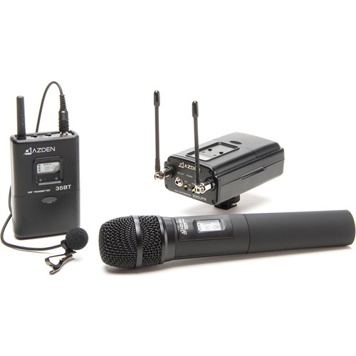 Azden-330LH-UHF-Dual-Channel-Wireless-System