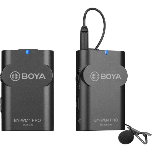 میکروفون-بیسیم-BOYA-BY-WM4-PRO-Digital-Camera