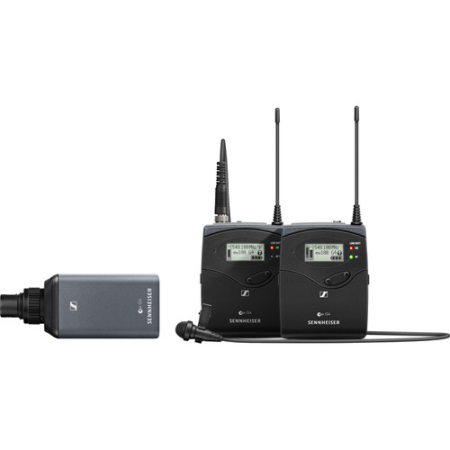 میکروفون-بی-سیم--سنهایزر-Sennheiser-EW-100-ENG-G4-Camera-Mount-Wireless-Combo-Microphone-System