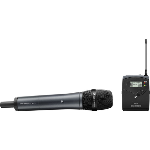 هاشف-سنهایزر-Sennheiser-EW-135P-G4-Camera-Mount-Wireless-Cardioid-Handheld-Microphone-System
