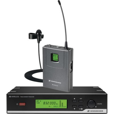 سنایزر-HF-برقی--Sennheiser-XSW-12-Presentation-Set-Wireless-Lavalier-Microphone-System