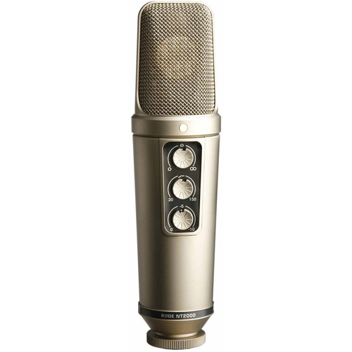 میکروفن-رود-Rode-NT2000-Variable-Pattern-Studio-Condenser-Microphone