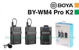 میکروفون بیسیم BOYA BY-WM4 PRO-K2 Two-Person Digital Camera-Mount Wireless