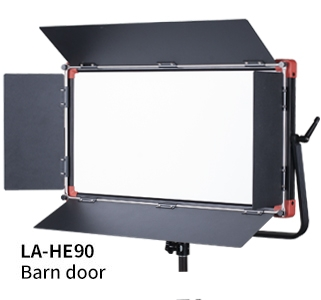 نور-سافت-پنل-SWIT-PL-E90D-plus-Portable-Bi-color-SMD-Panel-with-barn-door