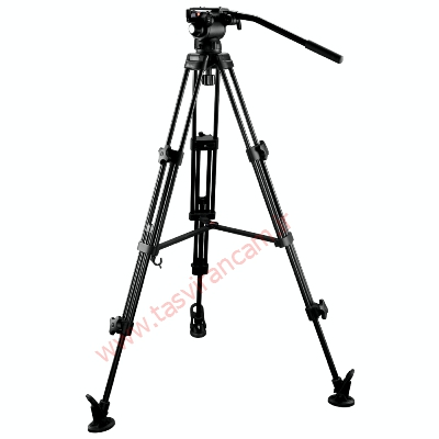سه-پایه-ایمیج-E-Image-Fluid-Video-Head-Tripod-Kit-EG03AA