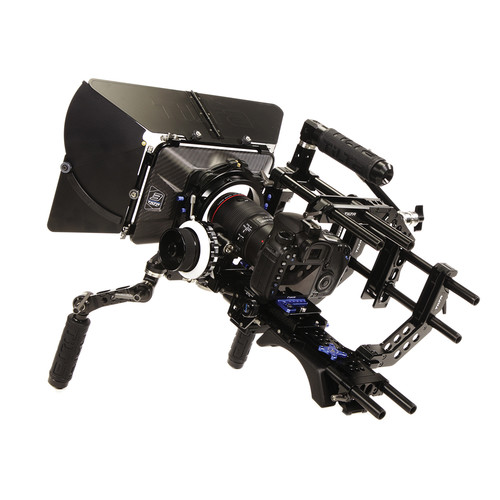 Tilta-Universal-Shoulder-Rig,-Baseplate-w-Shoulder-Pad,-4x4-Carbon-Fiber-Matte-Box---FF-Unit