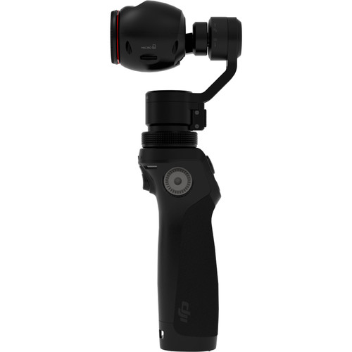 اسمو-دوربین-گیم-بال-DJI-Osmo-Handheld-4K-Camera-and-3-Axis-Gimbal---microphon-battery
